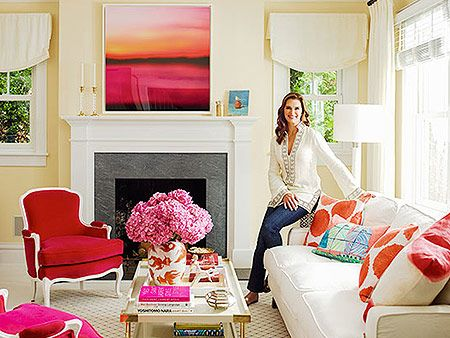 Brooke Shields' Colorful New York Cottage