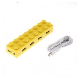Lego Porta USB Amarillo