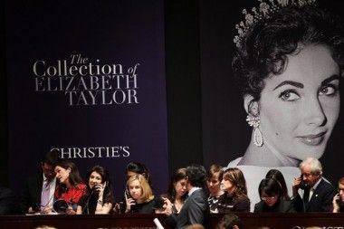 Liz Taylor: un'asta da record