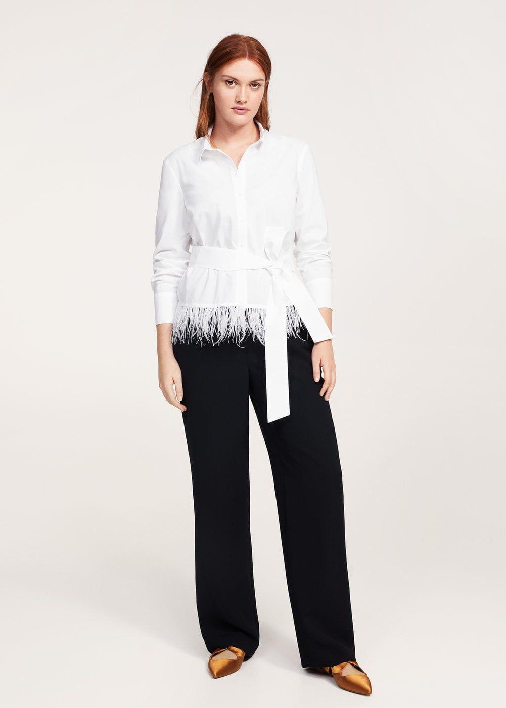 Shawl Collar Vegan Leather Dress | Womens Plus Size