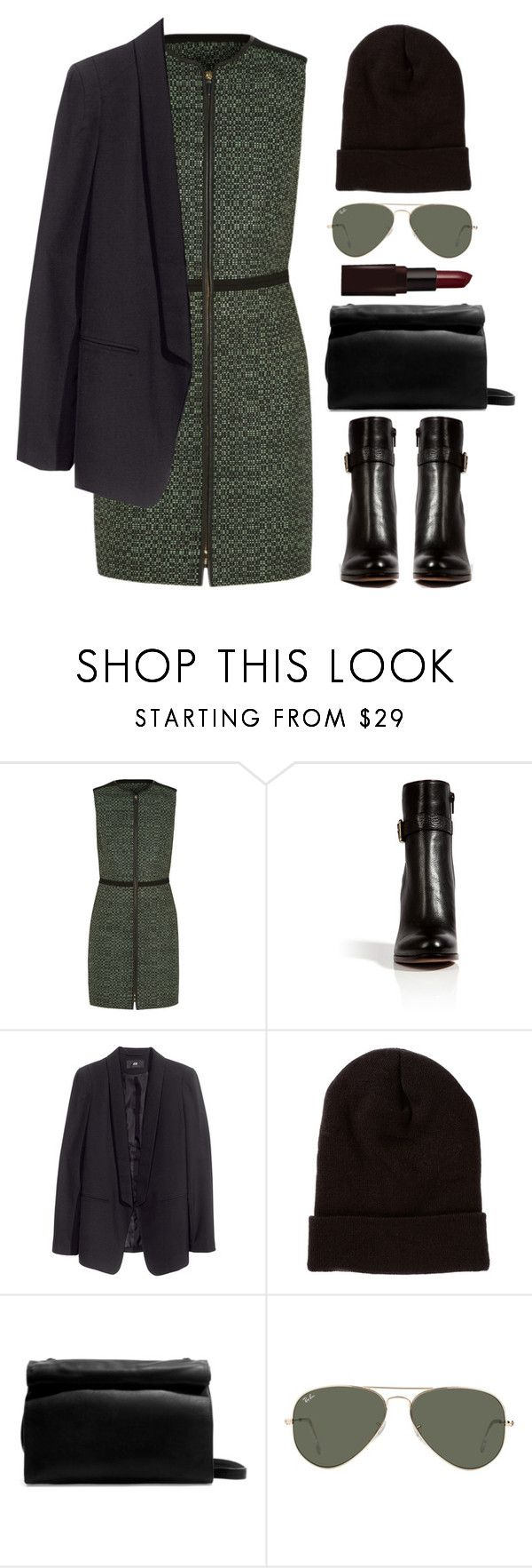 """""""Do the walk"""" by endimanche ❤ liked on Polyvore featuring M Missoni, L'Autre Chose, H&M, American Apparel, Zara, Ray-Ban and Laura Mercier"""