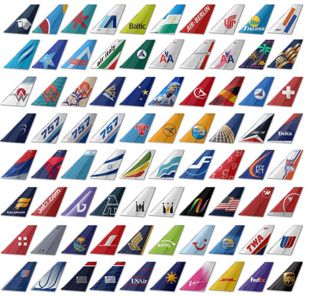 Tails.jpg (640×607)   Plane tails, Vintage airline posters, Aviation  airplane