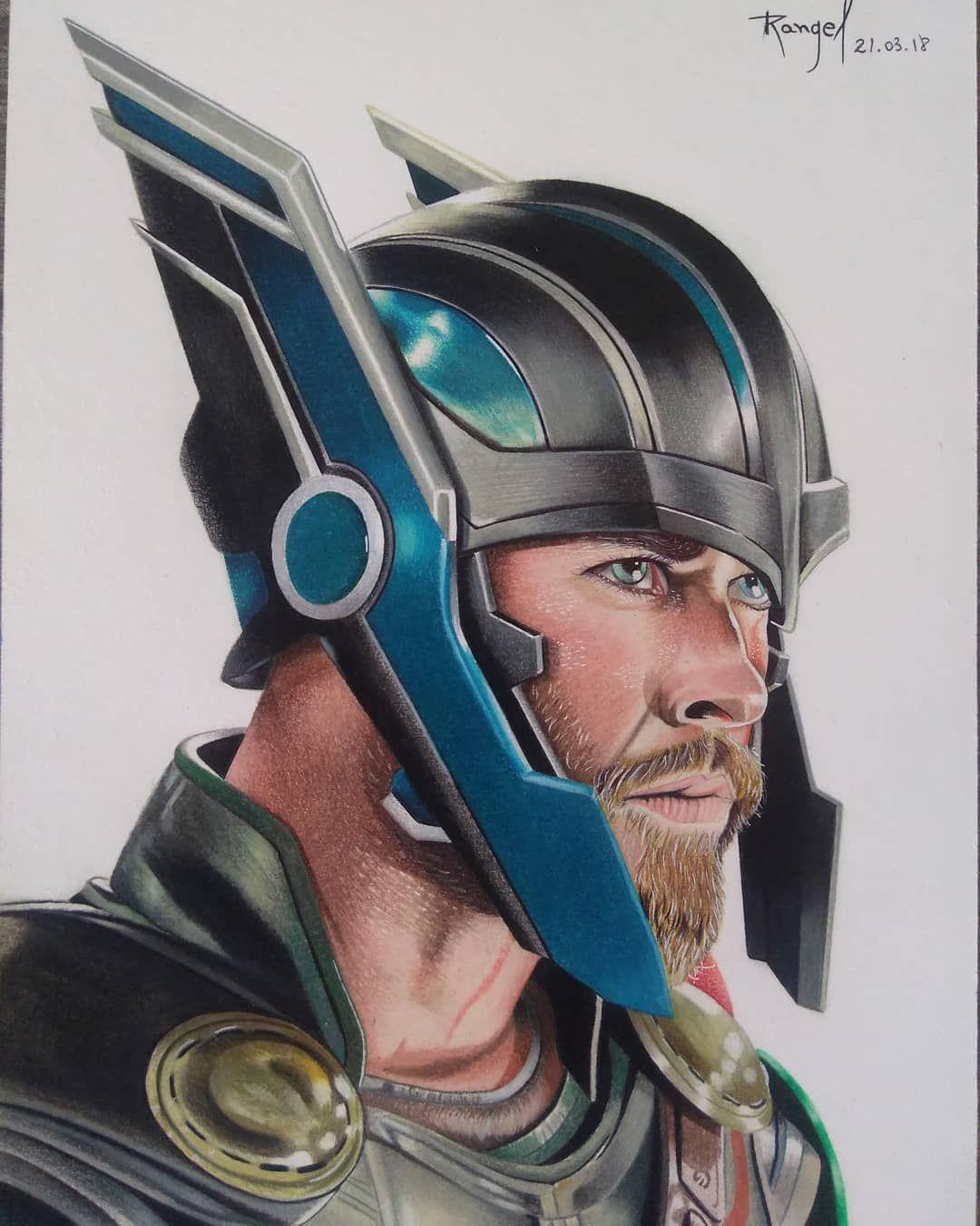 Thor Ragnarokdrawing By Rangel Batista Ragnarok Chrishemsworth