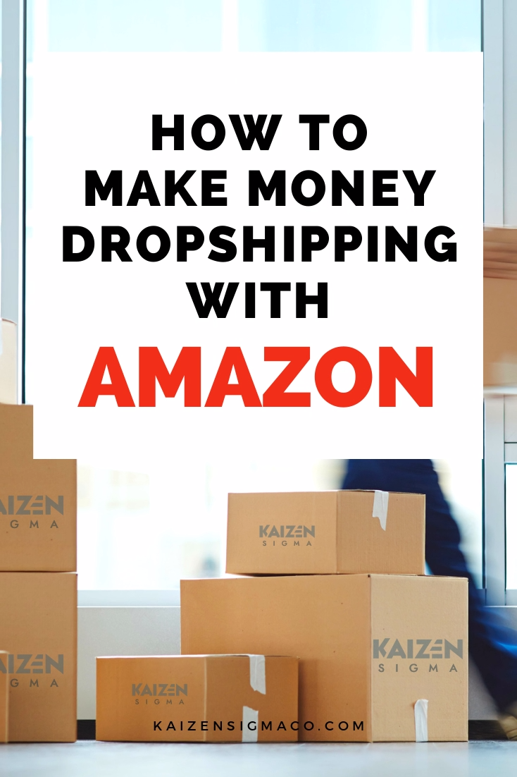How does dropshipping with Amazon work? Dropshipping for beginners: dropshipping concept, niche ideas, products and suppliers tips. Learn everything you need to start your own dropshipping service. Kaizen Sigma helps local businesses with time-tested marketing techniques, strategy, content marketing, social media management, advertising and video production. Follow for tips, ideas and hacks for entrepreneurs. #business #dropshipping #marketingtips #businesstips #onlinebusiness #amazon