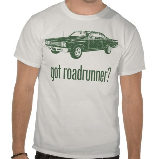 d59adce5 1969 Plymouth Road Runner T-Shirt | Zazzle.com | Gifts For Runners ...