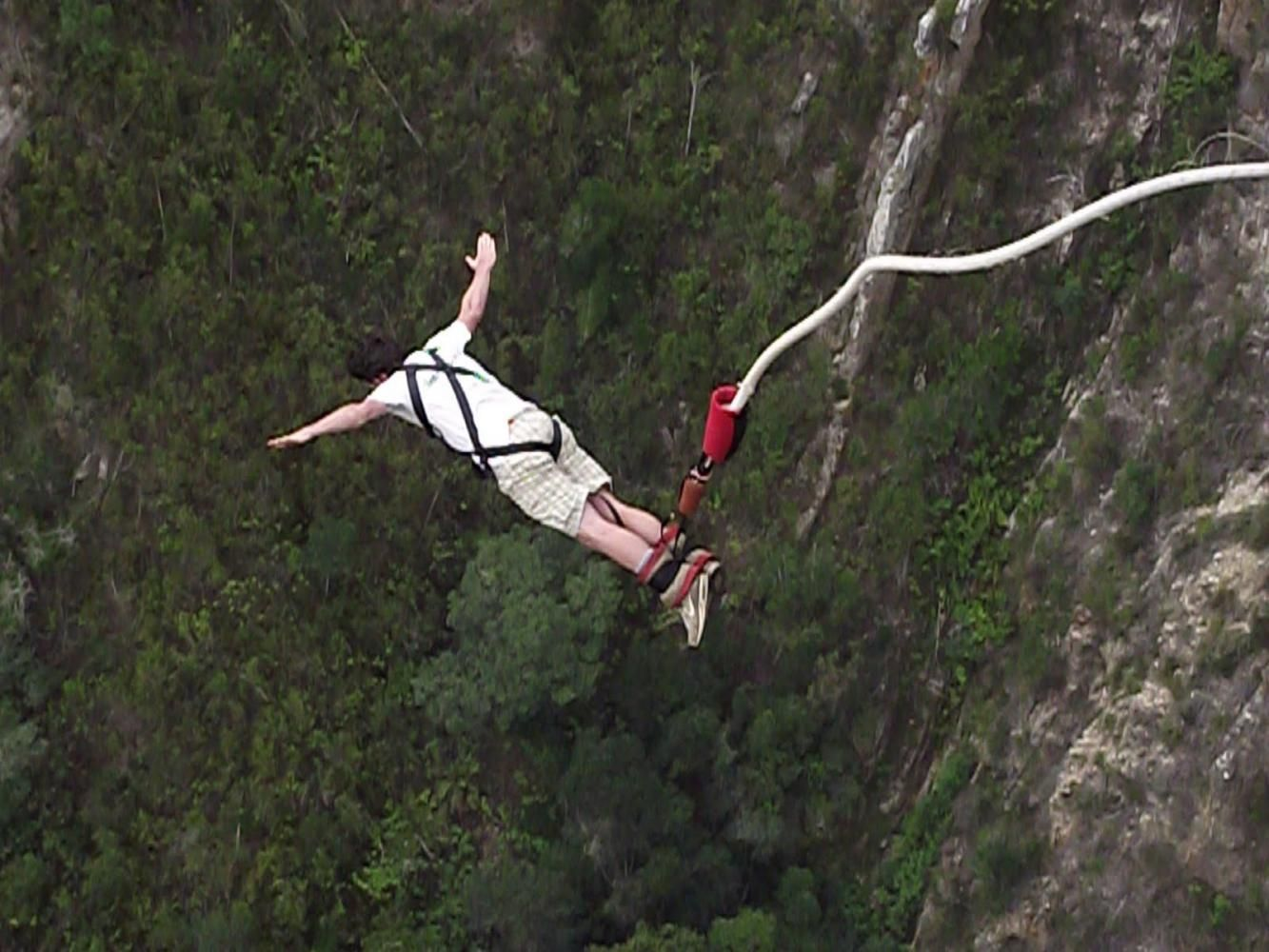 Jump With Rubber Chords Tied To Your Ankle And Feel The Ultimate Adrenalin Rush Like Never Before The Bungee Bungee Jumping Adventure Sports Adventure Holiday