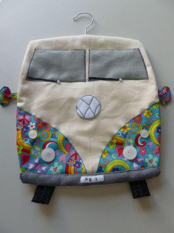 VW Camper Van design Peg Bag by Craftymouseuk on Etsy, £18.00 ...