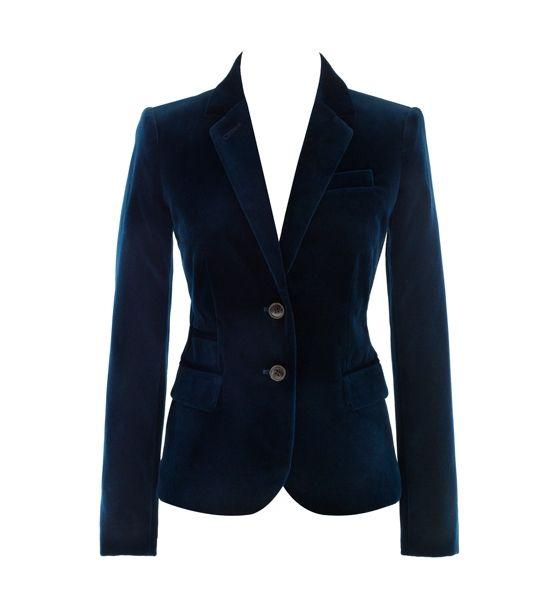 J. Crew velvet blazer, $178
