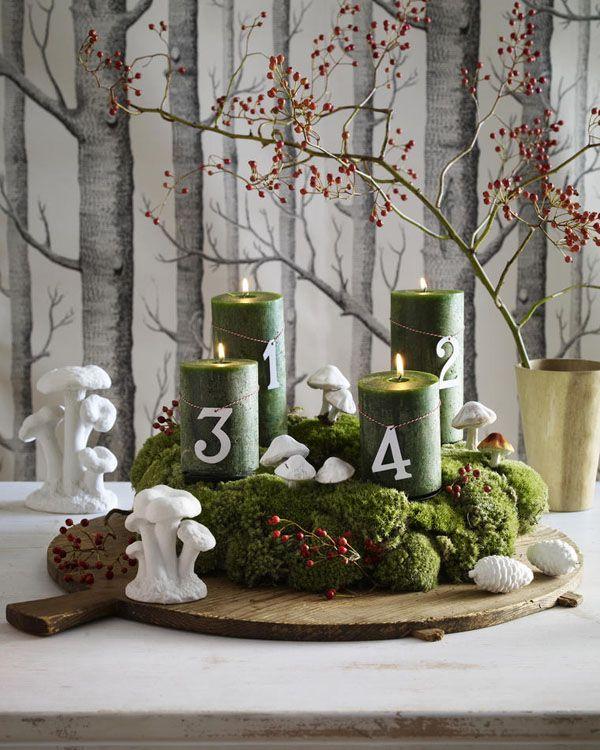 Adventskranz basteln leicht gemacht adventsbasar adventskranz basteln weihnachten und advent - Bastelideen advent ...