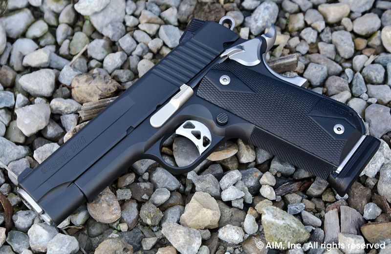 SIG Sauer 1911 Nightmare .45acp 5inch Brl Night Sights CLEAN For ...