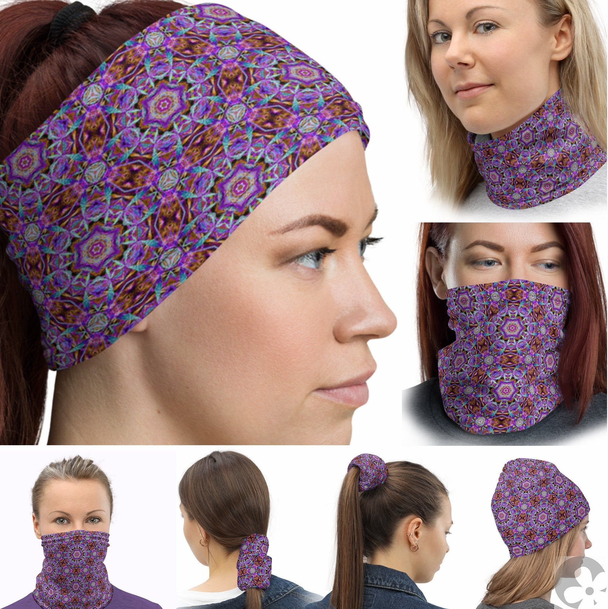 Pin on Fashionable Hairbands Neck Gaiters