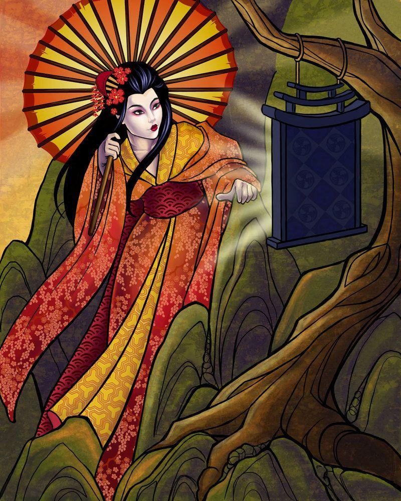 Amaterasu By Tattereddreams At Deviantart More Goddess Work In