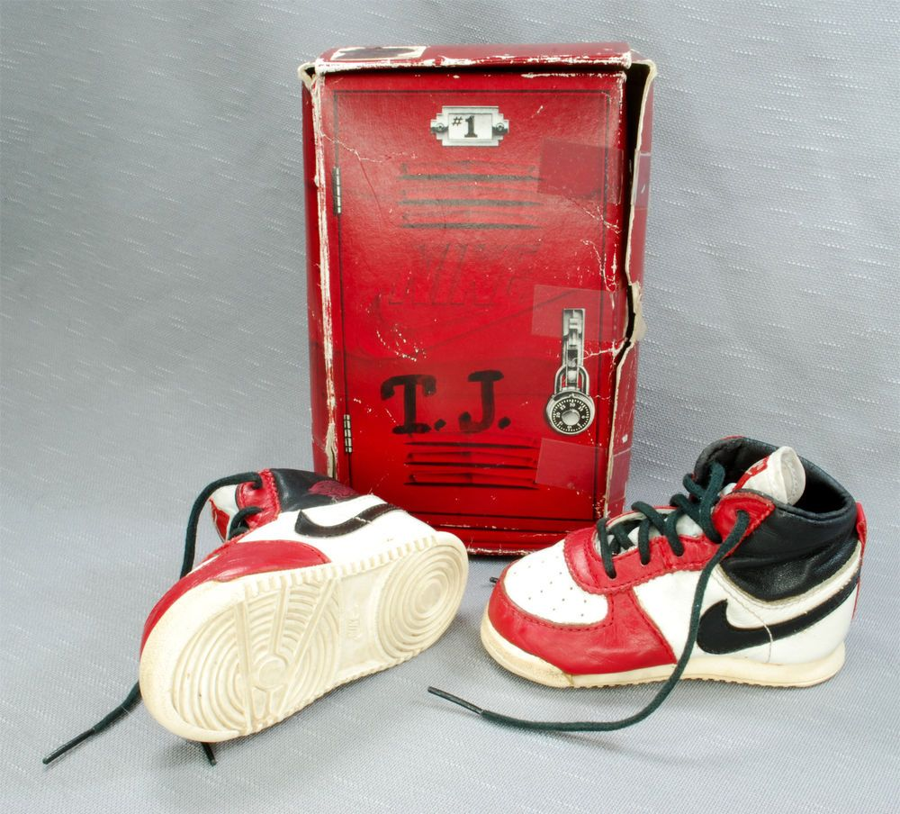 size 40 b8c92 8d3dd Nike Air Jordan 1 - 1985 Size 3 Toddler Baby Infant Shoes ...