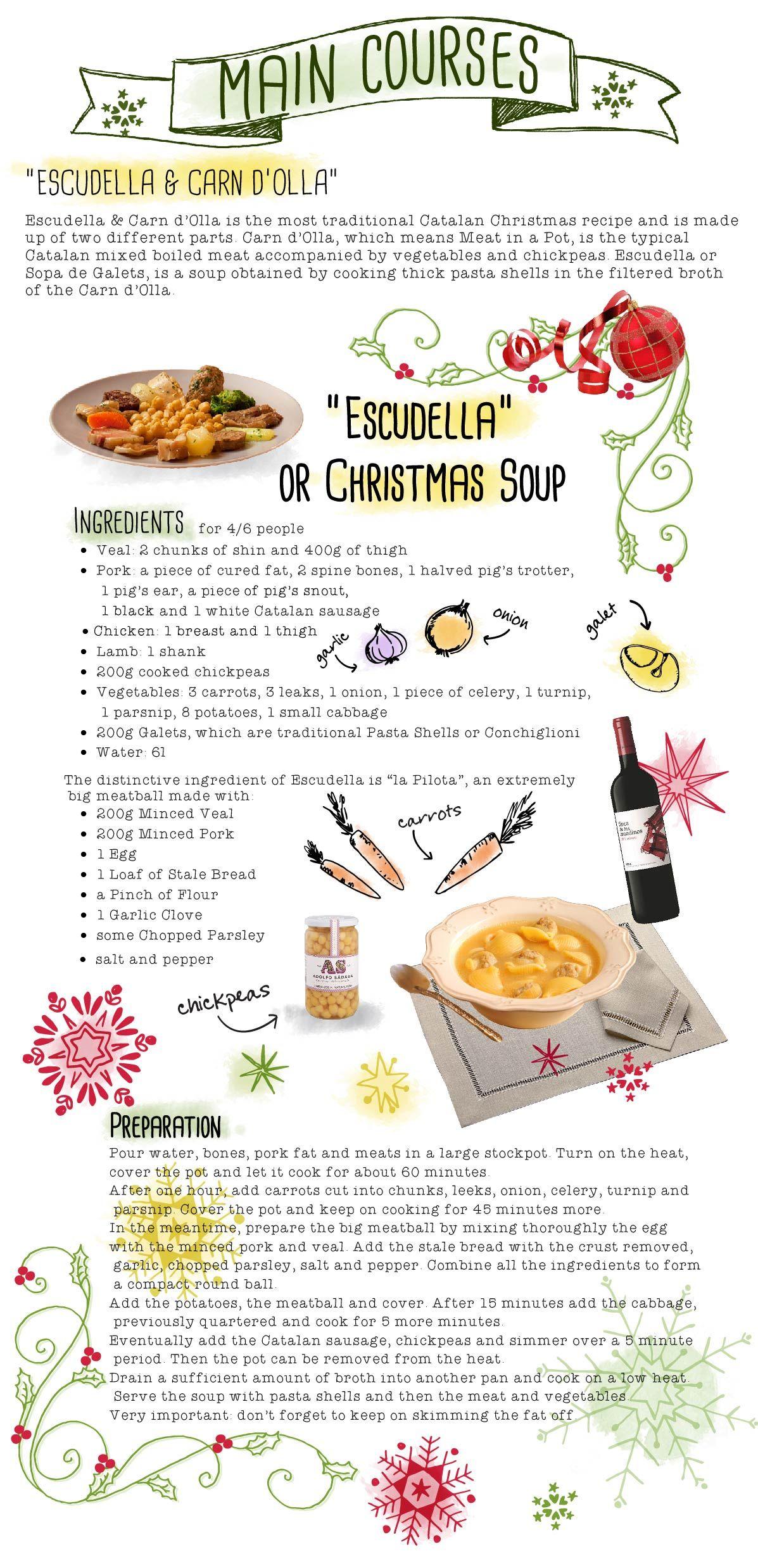 Escudella #christmas #escudella #carndolla #christmassoup #soup ...