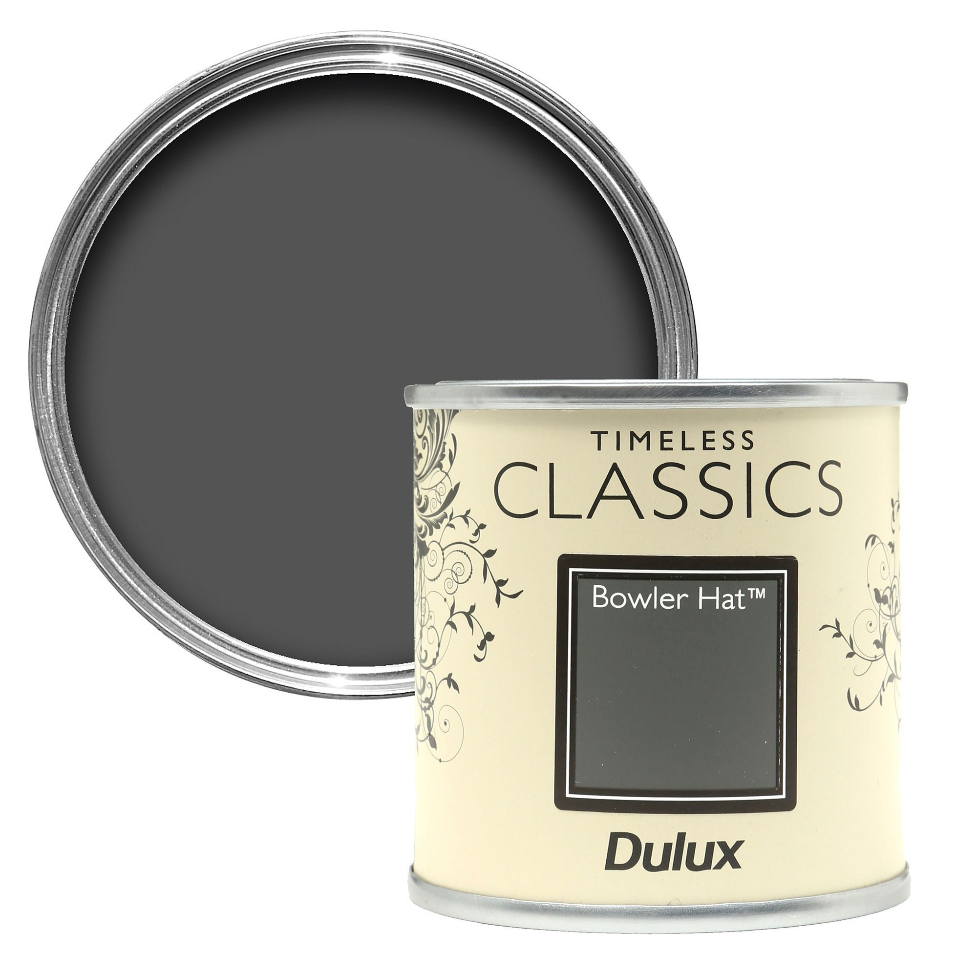 fb9f0b22c20a0 Dulux Timeless Classics Bowler Hat Matt Emulsion Paint 125ml Tester Pot