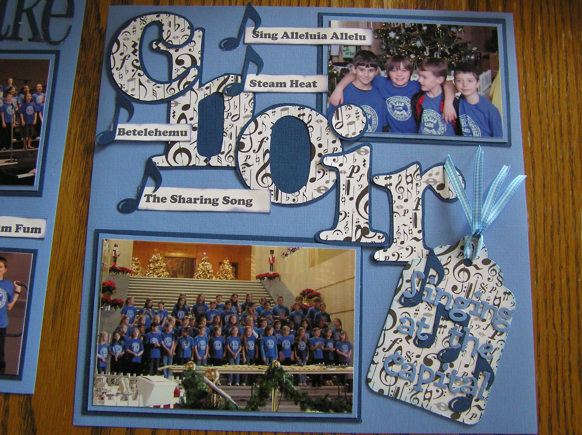 Scrapbook ideas many pictures
