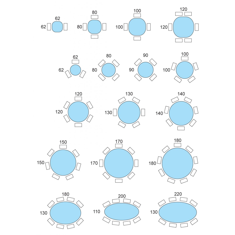 Dimensioni Standard Tavolo Cucina laltezza giusta per il tavolo da pranzo. misure tavolo