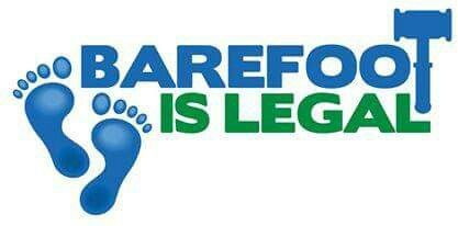 #BarefootIsLegal www.barefootislegal.org #BIL  ✊💜👣