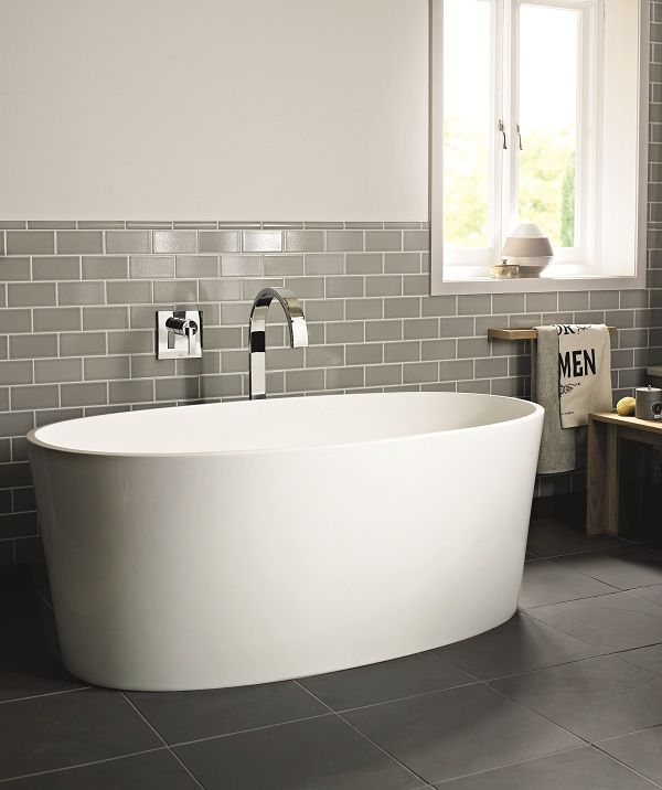 And another half tiled bathroom with freestanding bath. & Pod Bath Fired Earth | House - Bathroom ideas | Pinterest | Stage ...
