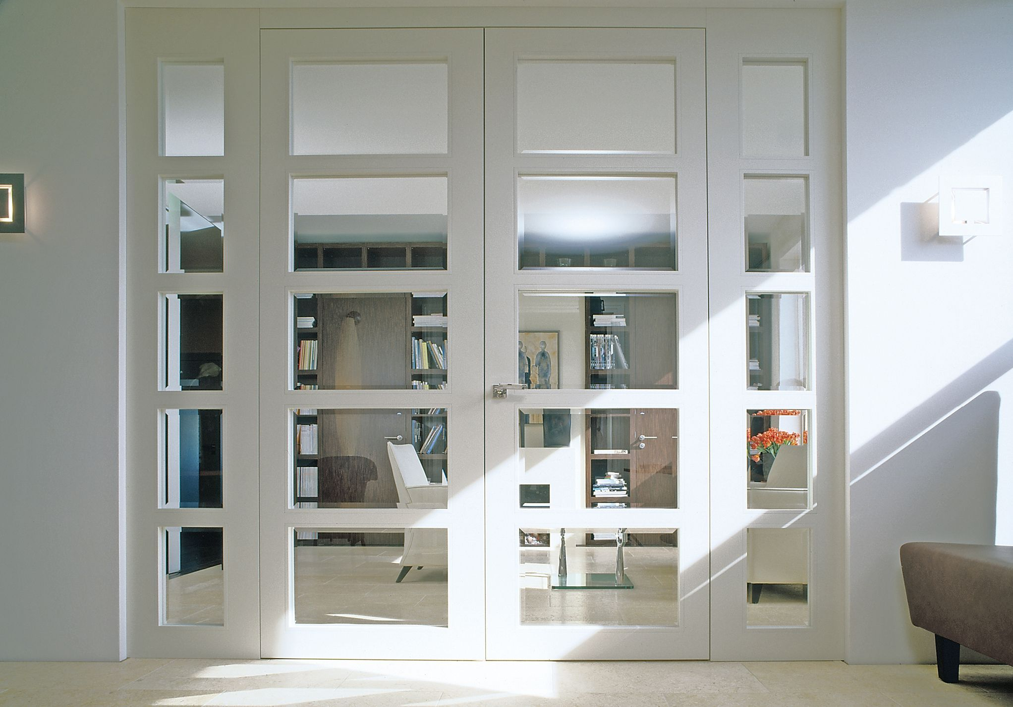 The Rooms With High Ceilings Deserve Tall Internal Doors That Make The Most Grandiose Feature French Doors Interior Internal Glass Doors Sliding Doors Interior