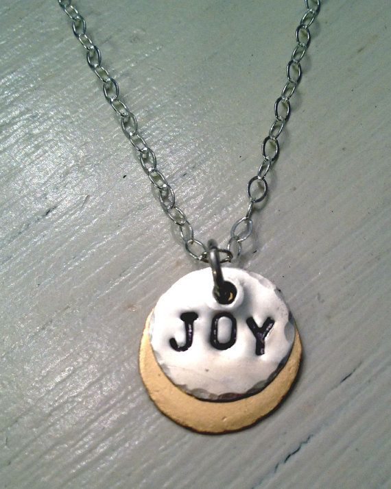 Joy Necklace by Bybella on Etsy, $42.00