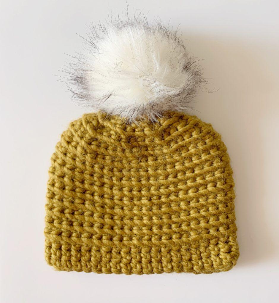 Chunky Spiral Crochet Hat Daisy Farm Crafts in 2020