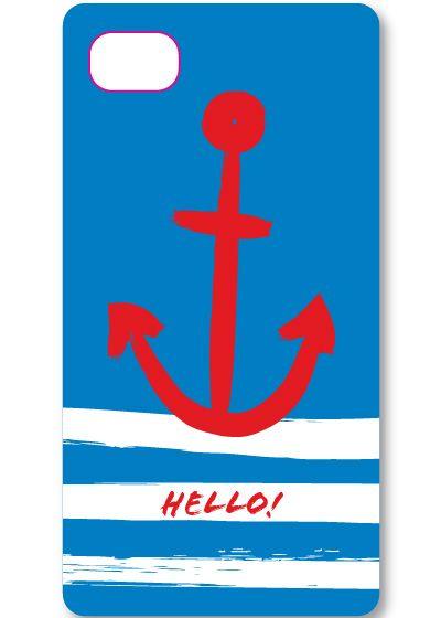 Anchor Stripes iPhone Case...Super Cute!!