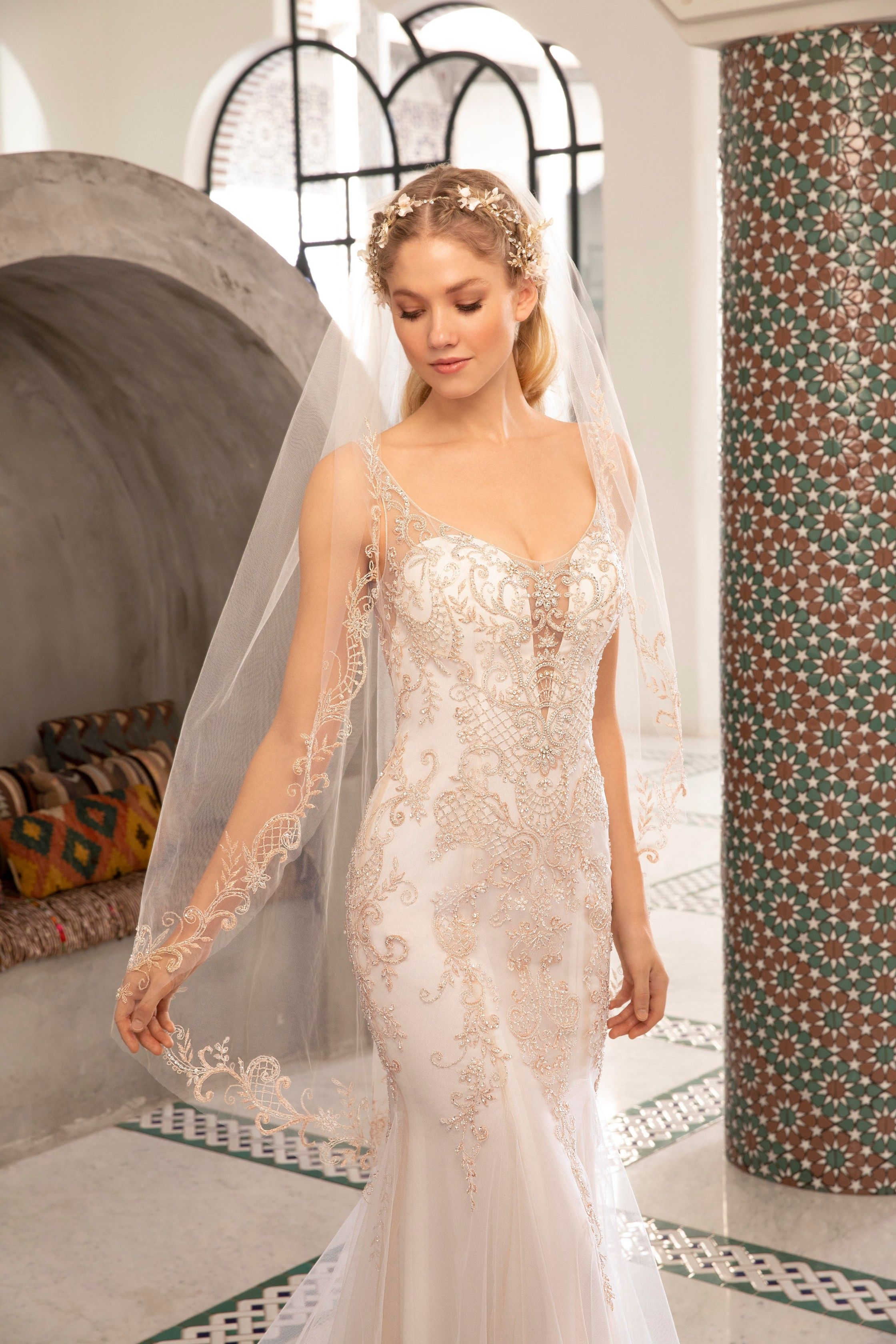 Pin on Fit n Flare Wedding Dresses