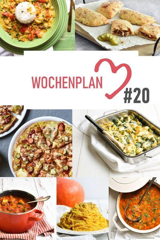 Photo of Wochenplan #20. Abwechslungsreiche Rezeptideen für eine Woche.