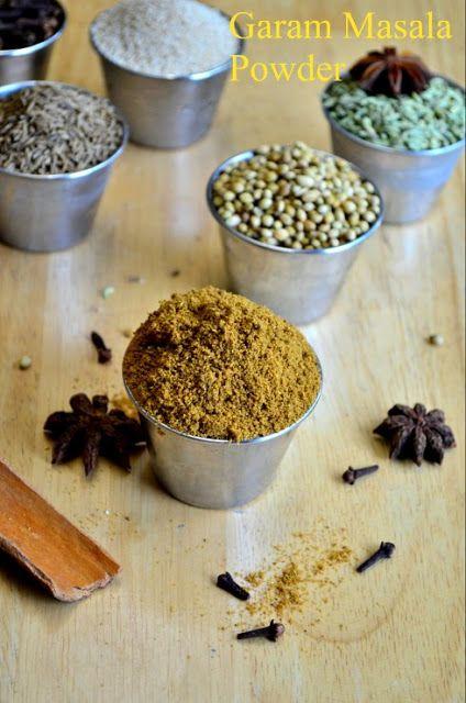 Homemade Garam Masala Powder ~ NalinisKitchen