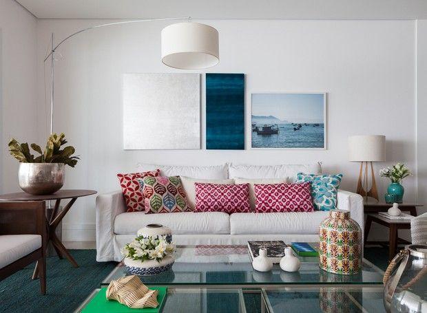 Casa de praia ganha decoração para receber bem amigos e familiares - tapete modern