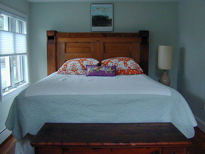 Handmade Wooden Headboard Created from Architectural Pieces ...