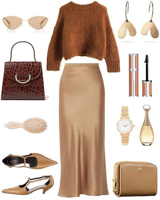 Stylisches Outfit mit Sliprock für jeden Tag Look-Ideen für den Frühling #war…,  #den #Früh…