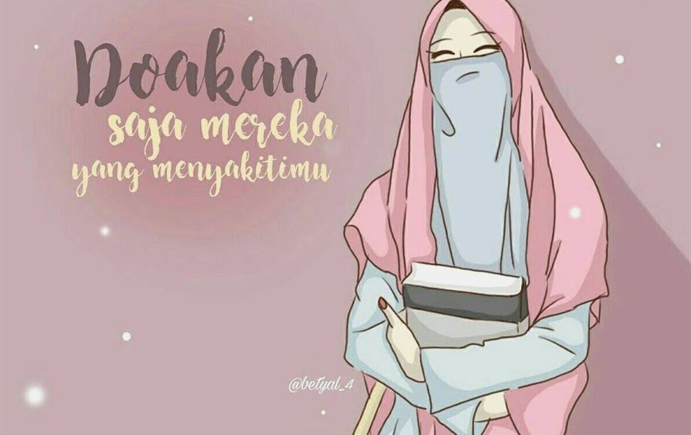 25 Gambar Kartun Muslimah Cinta Allah Di 2020 Dengan Gambar
