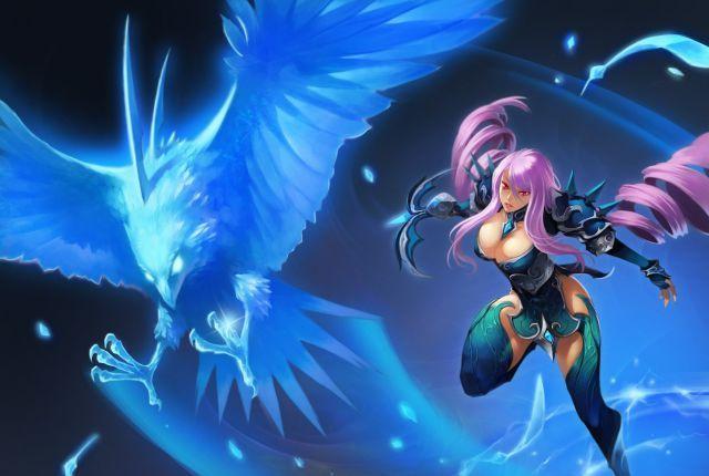 鷹族獵手—莉歐蕾是一名為了拯救弟弟而不得不踏上戰場的悲情少女。