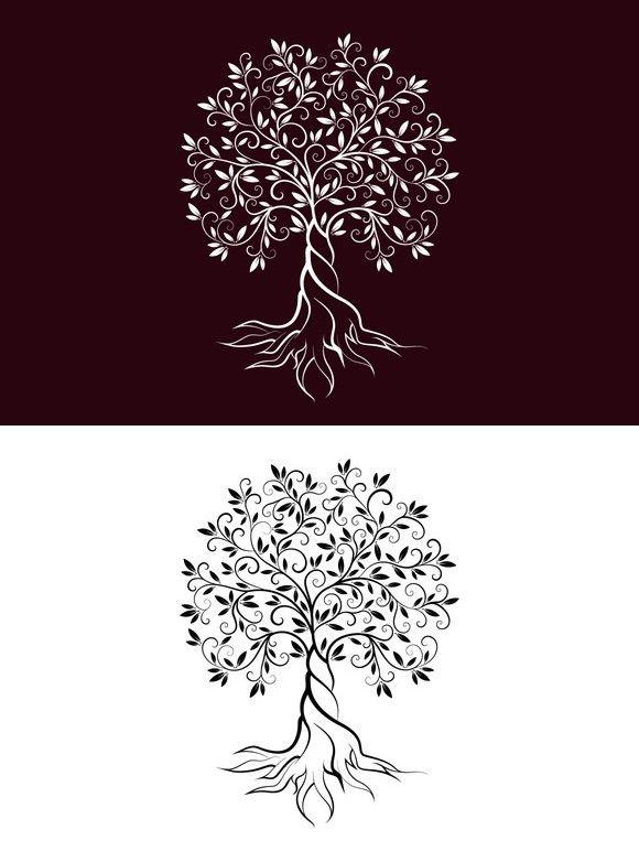 Olive tree vector logo concept. Premium Icons. $5.00
