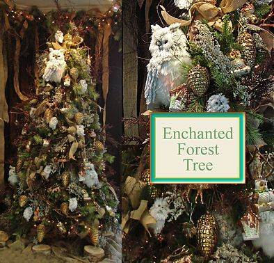 enchanted forest christmas decorations | Visit Our Showroom ...
