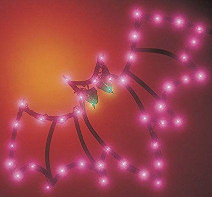 Lighted Bat decoration for Halloween Halloween Pinterest - halloween lighted decorations