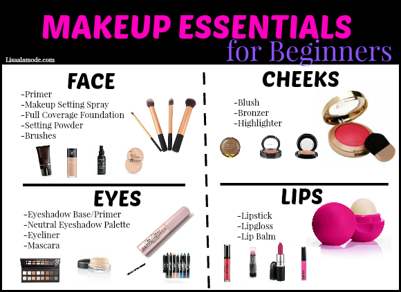 Makeup Guide for Beginners Makeup essentials for