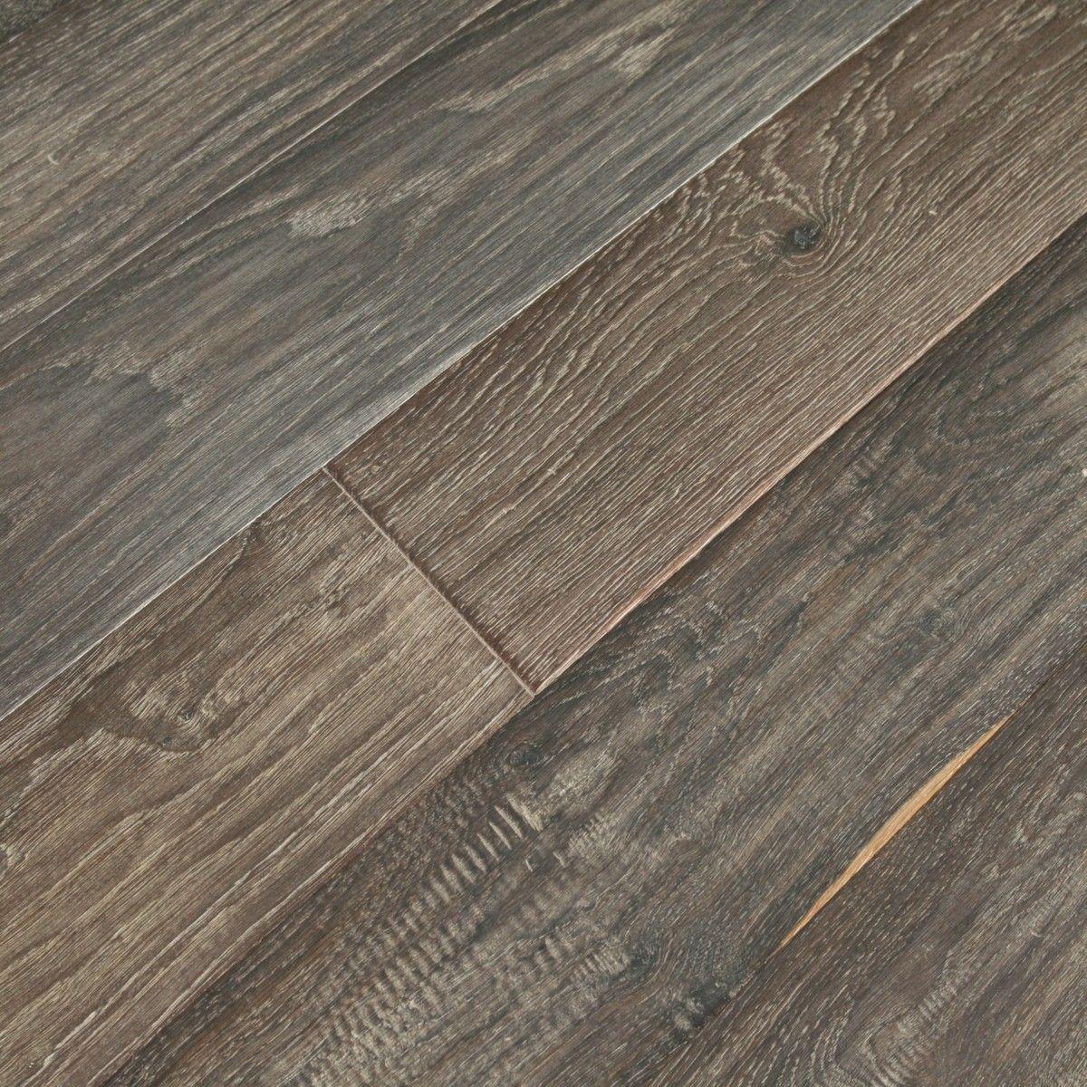 Vintage Ebony Flooring | Prefinished Engineered Hardwood Floors | TEKA - Vintage Ebony Flooring Prefinished Engineered Hardwood Floors