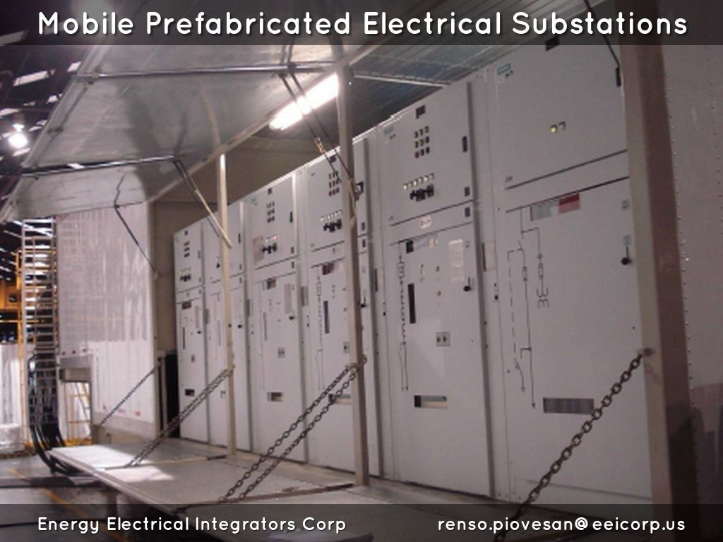 Shelters Electricos. Electrical Shelters Subestación