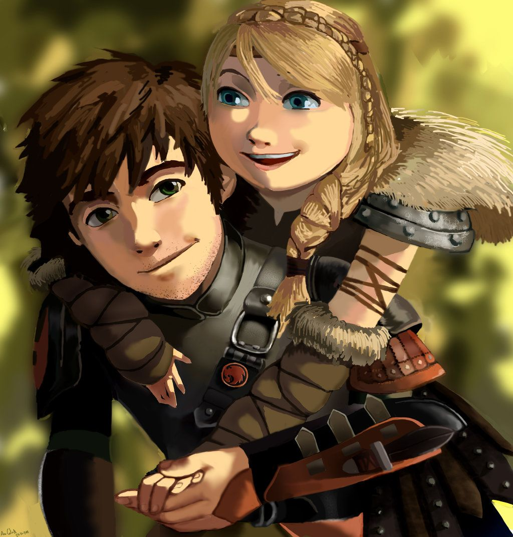 HTTYD Astrid X Hiccup On Pinterest