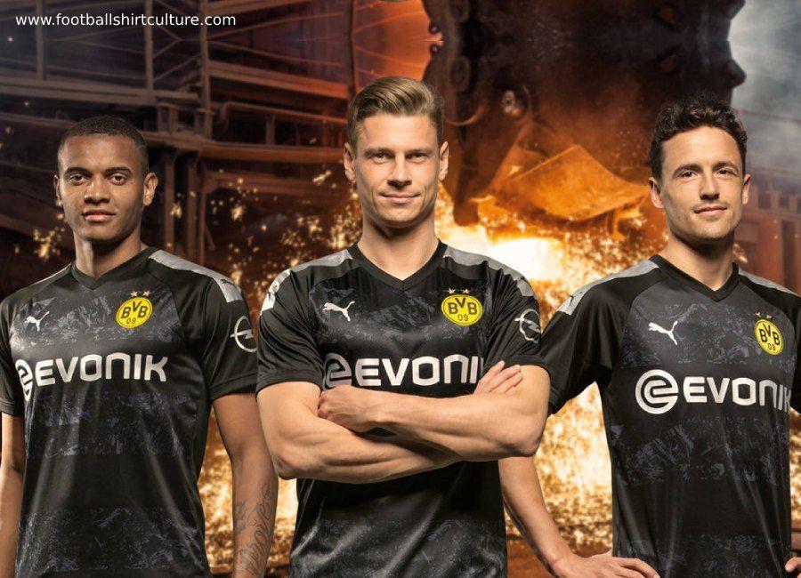 Borussia Dortmund 2019 20 Puma Away Kit Borussiadortmund Footballshirt Bvb In 2020 Borussia Dortmund Dortmund Football Club