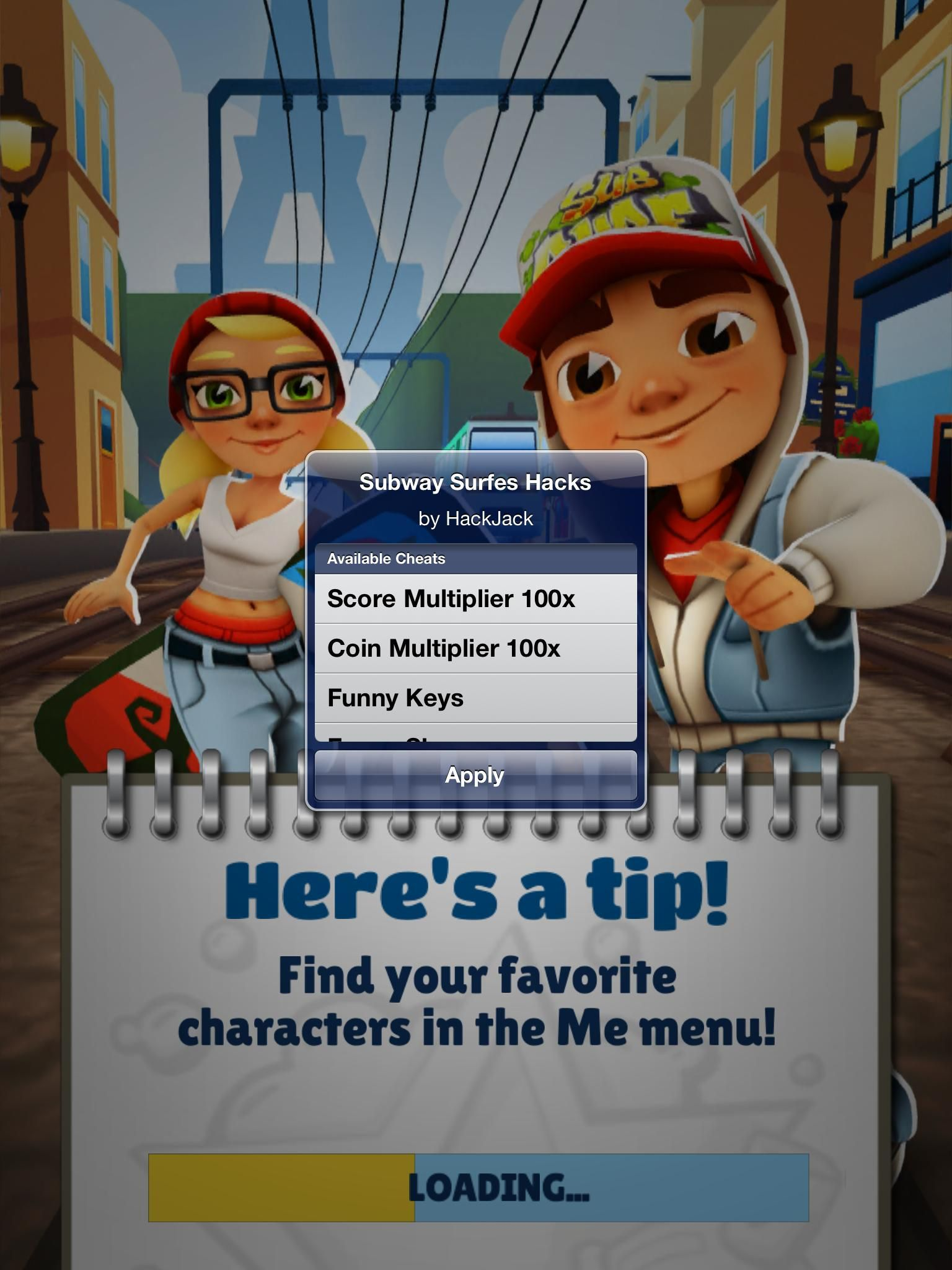 subway surfers hack version unlimited keys and coins download