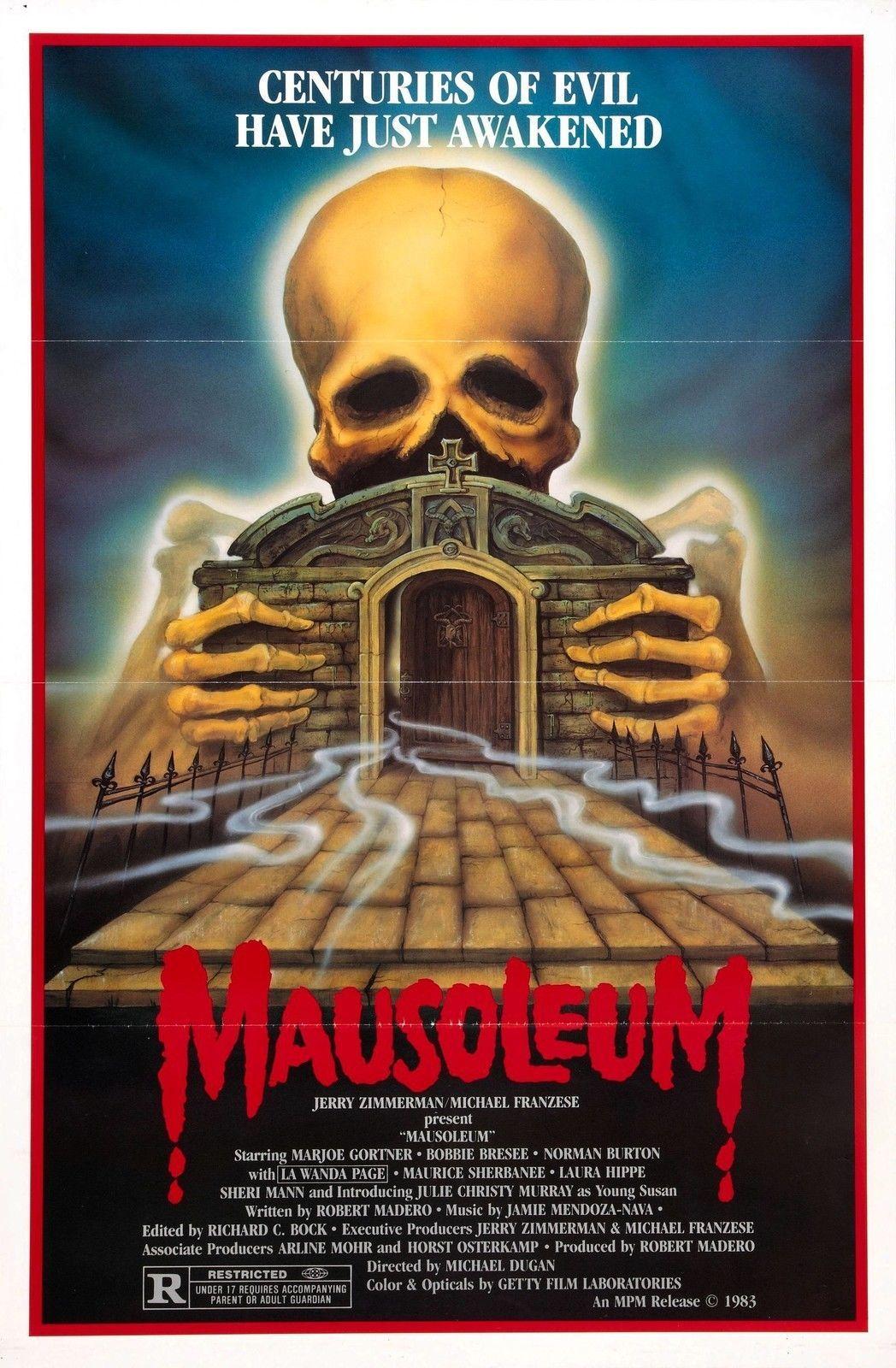 Details about MAUSOLEUM Movie Poster RARE Horror | 80's