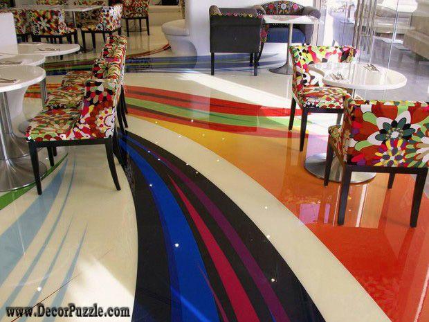Creative Flooring Ideas And Options 3d Epoxy Flooring