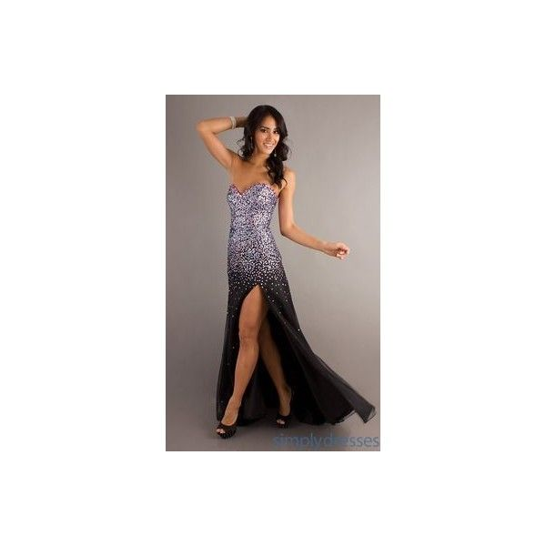 Punk Rock Prom Dresses ❤ liked on Polyvore featuring dresses, evening dresses, brown evening dress, holiday cocktail dresses, cocktail dresses and checkered dress