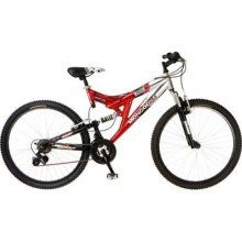 7bf7e3c48b5 Mongoose 26-Inch Men's Maxim Mountain Bike (Red/Silver) R4816 ...