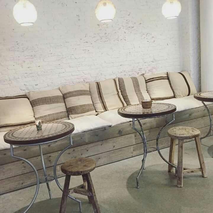 Idee inrichting zitplaatsen