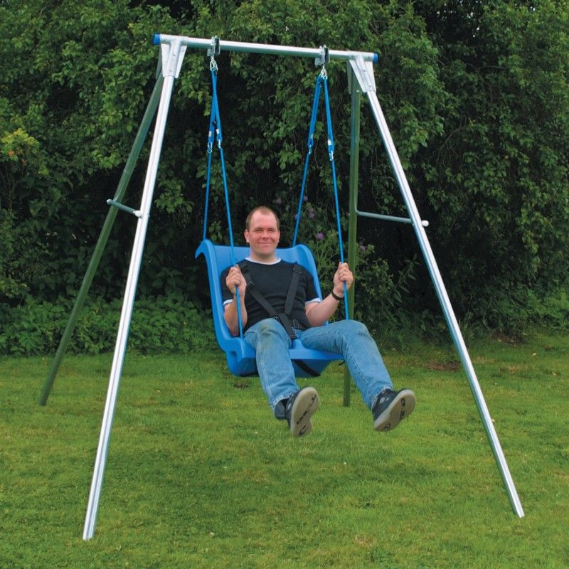Image result for adult swing Single swing, Playground